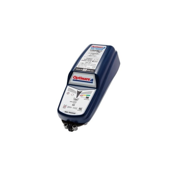 オプティメート4 DUAL パルス 式 充電 バイク バッテリー 充電器 バッテリーチャージャー 正規品 3年保証 デュアル Optimate4 全自動 メンテナー テックメイト|amcom|04
