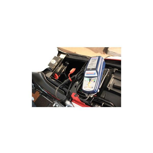オプティメート4 DUAL パルス 式 充電 バイク バッテリー 充電器 バッテリーチャージャー 正規品 3年保証 デュアル Optimate4 全自動 メンテナー テックメイト|amcom|07