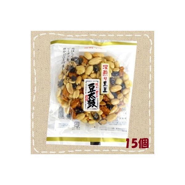 深煎り黒豆 豆太鼓 15個入り1BOX 【日進堂製菓】