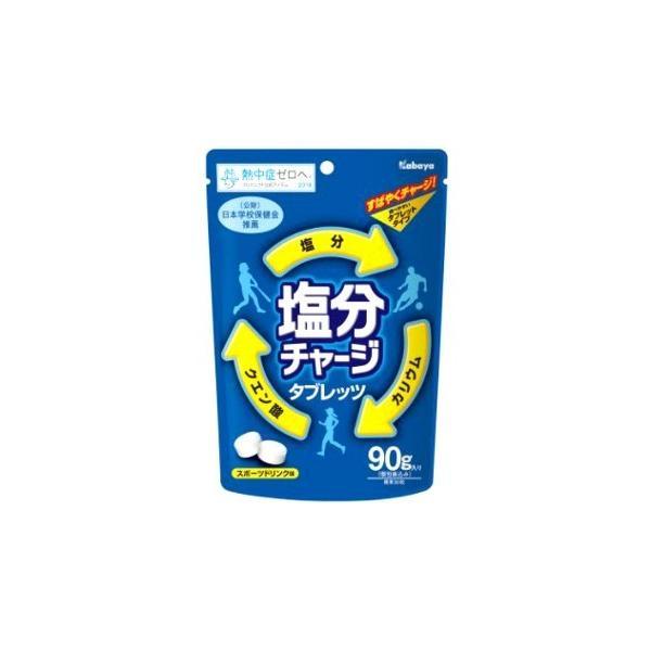 【特価】塩分チャージタブレッツ スポーツドリンク味 90g×1袋 カバヤ(kabaya)熱中症対策