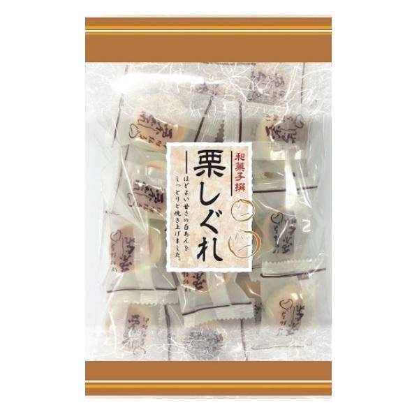 栗しぐれ 220g×1袋 伊藤製菓 半生菓子 老人会 お茶の友に
