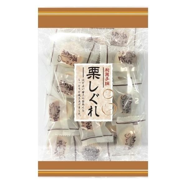 栗しぐれ 220g×120袋 伊藤製菓 半生菓子 老人会 お茶の友に 代引き不可