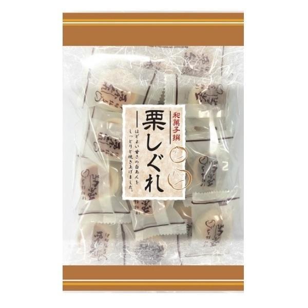 栗しぐれ 220g×24袋 伊藤製菓 半生菓子 老人会 お茶の友に