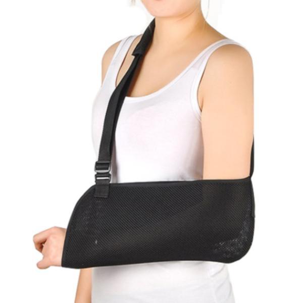 アームホルダー アームリーダー 腕つり用サポーター 三角巾  骨折 脱臼 ギプス フリーサイズ 左右兼用|amenity2019