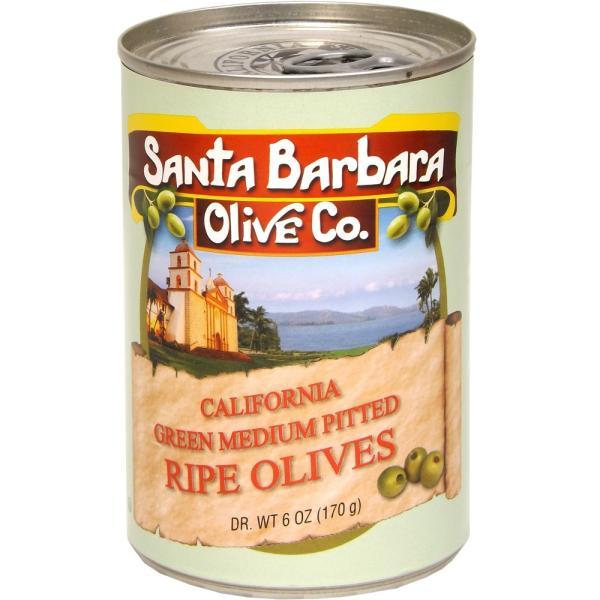 サンタバーバラ オリーブカンパニー オリーブ缶詰 6個