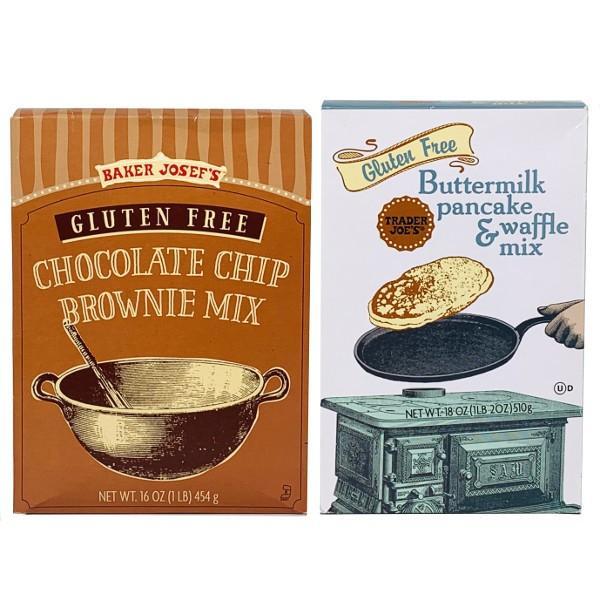 Trader Joe`s トレーダージョーズ チョコレートチップ ブラウニーミックス /バターミルク パンケーキ&ワッフルミックス
