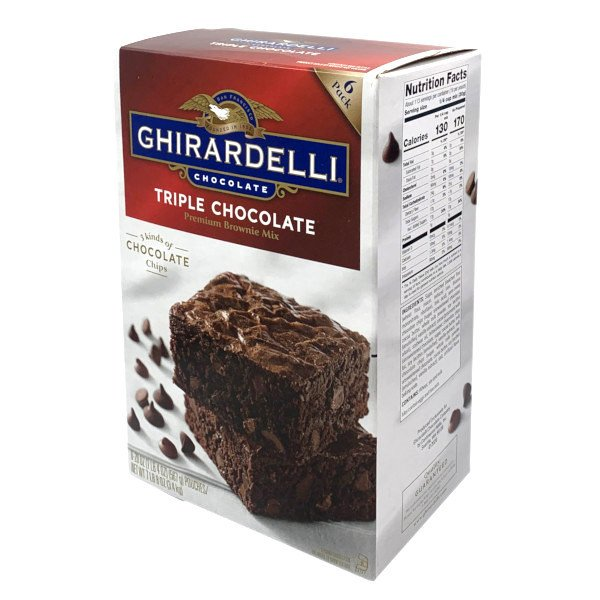 Ghirardelli ギラデリ トリプル チョコレート プレミアム ブラウニー ミックス 3.4kg