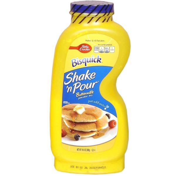 アメリカン パンケーキミックス Bisquick Shake 'n Pour 1個