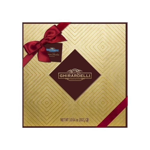 ギラデリ プレミアムチョコレート ゴールドギフトボックス 302g