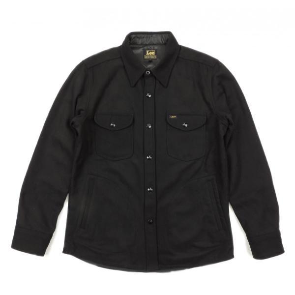 Lee / リー CPO WOOL JACKET ウール ジャケット BLACK ブラック LT0560 送料無料 americanrushstore