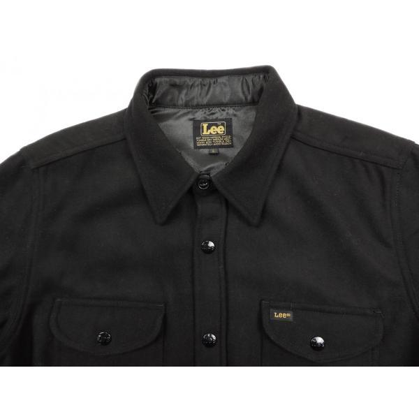 Lee / リー CPO WOOL JACKET ウール ジャケット BLACK ブラック LT0560 送料無料 americanrushstore 03