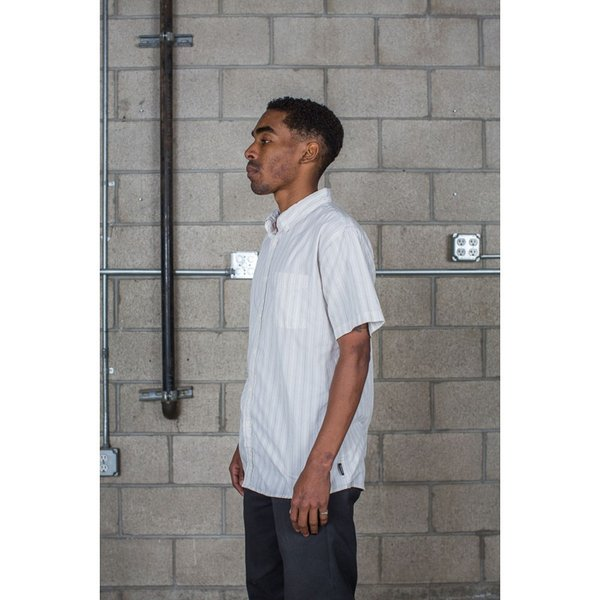 BRIXTON / ブリクストン ARTHUR S/S WOVEN SHIRT 半袖シャツ OFF WHITE|americanrushstore|03