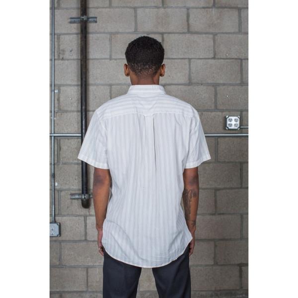 BRIXTON / ブリクストン ARTHUR S/S WOVEN SHIRT 半袖シャツ OFF WHITE|americanrushstore|04