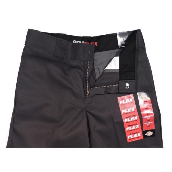 Dickies Mens Charcoal 874 FLEX Work Pants 874FCH Pants