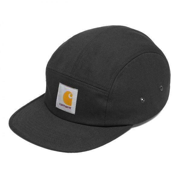 カーハート メンズ バックレー キャップ 5パネル ジェットキャップ ブラック 帽子 CARHARTT BACKLEY CAP BLACK I016607|americanrushstore