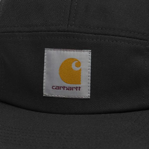 カーハート メンズ バックレー キャップ 5パネル ジェットキャップ ブラック 帽子 CARHARTT BACKLEY CAP BLACK I016607|americanrushstore|02