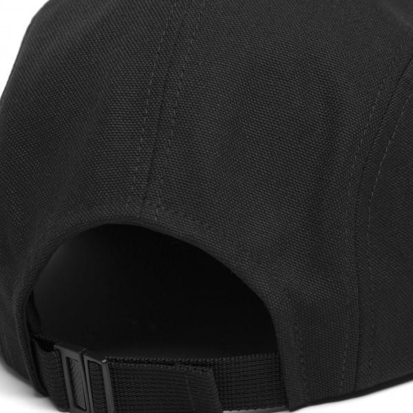 カーハート メンズ バックレー キャップ 5パネル ジェットキャップ ブラック 帽子 CARHARTT BACKLEY CAP BLACK I016607|americanrushstore|03