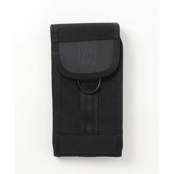 クローム ラージ フォンポーチ ブラック/ブラック スマホポーチ ケース CHROME PHONE LARGE POUCH BLACK/BLACK americanrushstore