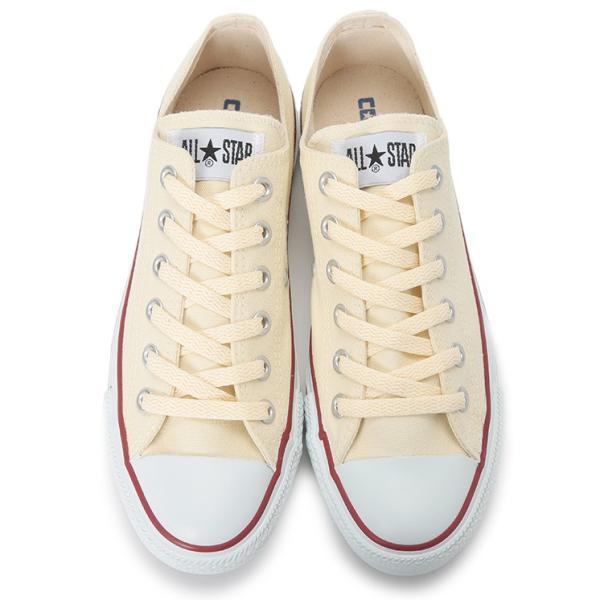 CONVERSE / コンバース ALL STAR OX オールスター ローカット キャンバス WHITE ホワイト|americanrushstore|04
