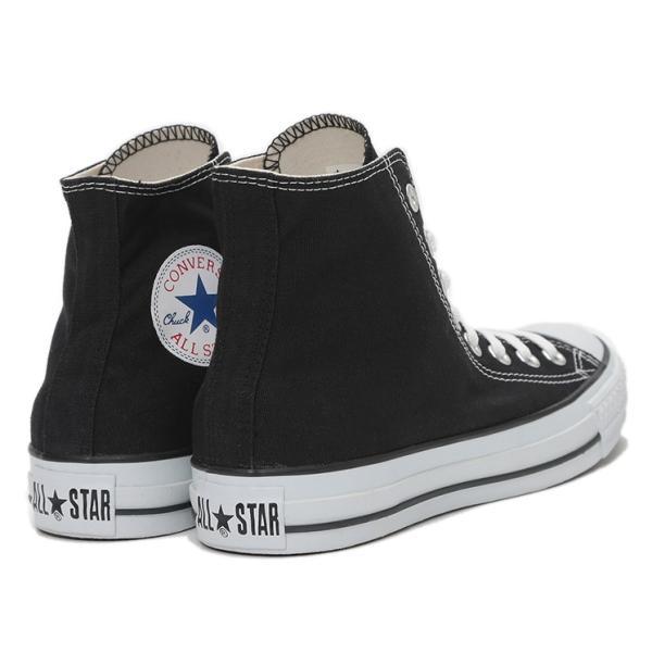 CONVERSE / コンバース ALL STAR HI オールスター ハイカット キャンバス BLACK ブラック americanrushstore 03