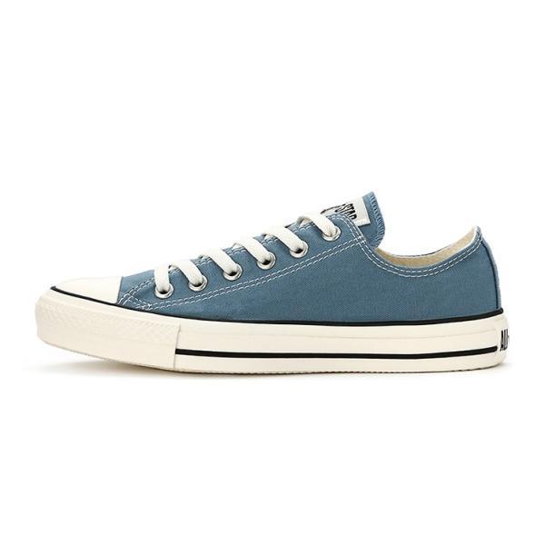 コンバース メンズ シューズ スニーカー 靴 オールスター ウォッシュド キャンバス ローカット ブルー CONVERSE ALL STAR WASHED CANVAS OX BLUE|americanrushstore