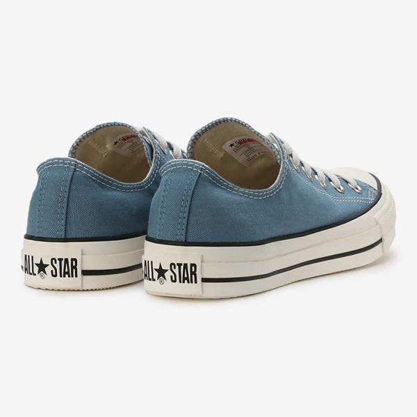 コンバース メンズ シューズ スニーカー 靴 オールスター ウォッシュド キャンバス ローカット ブルー CONVERSE ALL STAR WASHED CANVAS OX BLUE|americanrushstore|03