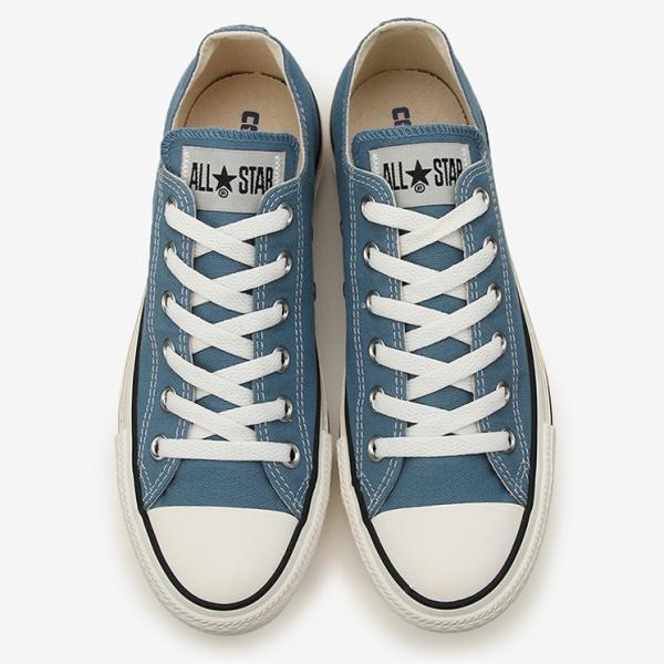 コンバース メンズ シューズ スニーカー 靴 オールスター ウォッシュド キャンバス ローカット ブルー CONVERSE ALL STAR WASHED CANVAS OX BLUE|americanrushstore|04