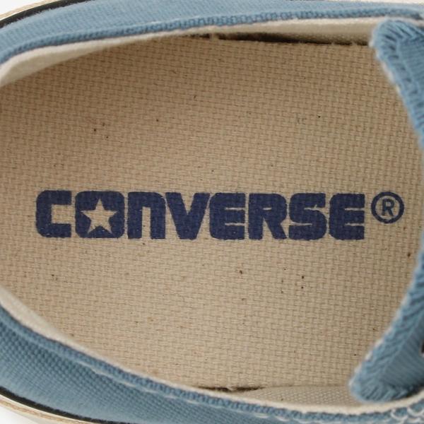 コンバース メンズ シューズ スニーカー 靴 オールスター ウォッシュド キャンバス ローカット ブルー CONVERSE ALL STAR WASHED CANVAS OX BLUE|americanrushstore|06