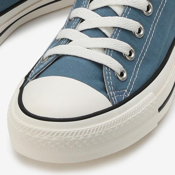 コンバース メンズ シューズ スニーカー 靴 オールスター ウォッシュド キャンバス ローカット ブルー CONVERSE ALL STAR WASHED CANVAS OX BLUE|americanrushstore|07