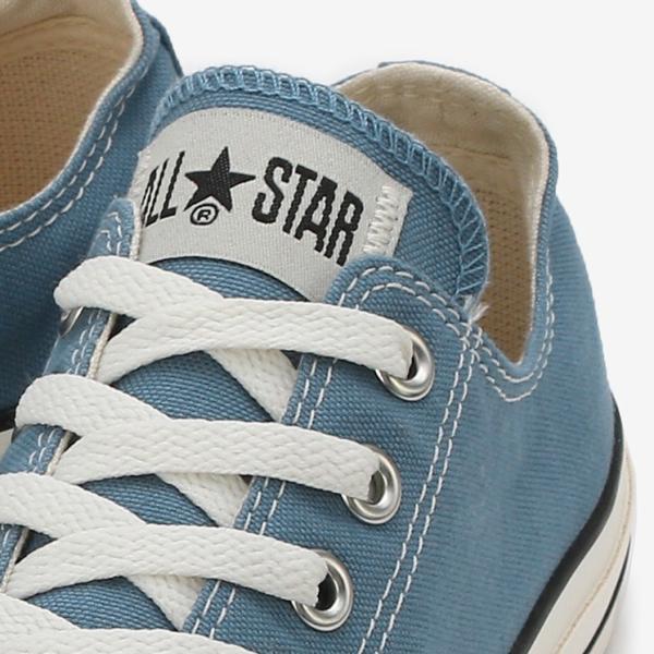 コンバース メンズ シューズ スニーカー 靴 オールスター ウォッシュド キャンバス ローカット ブルー CONVERSE ALL STAR WASHED CANVAS OX BLUE|americanrushstore|08
