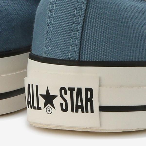 コンバース メンズ シューズ スニーカー 靴 オールスター ウォッシュド キャンバス ローカット ブルー CONVERSE ALL STAR WASHED CANVAS OX BLUE|americanrushstore|09