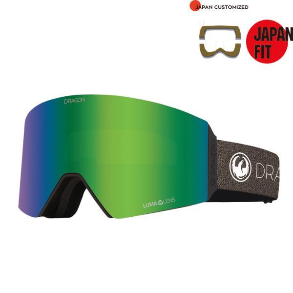 2020-21モデル DRAGON RVX JAPAN FIT スノーボード スキー ゴーグル ドラゴン