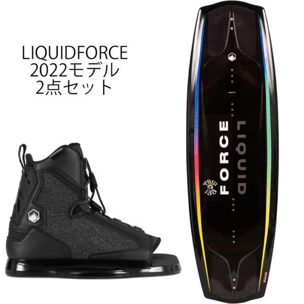 ウェイクボード リキッドフォース セット 2021 Liquid Force TRIP + INDEX BOOT