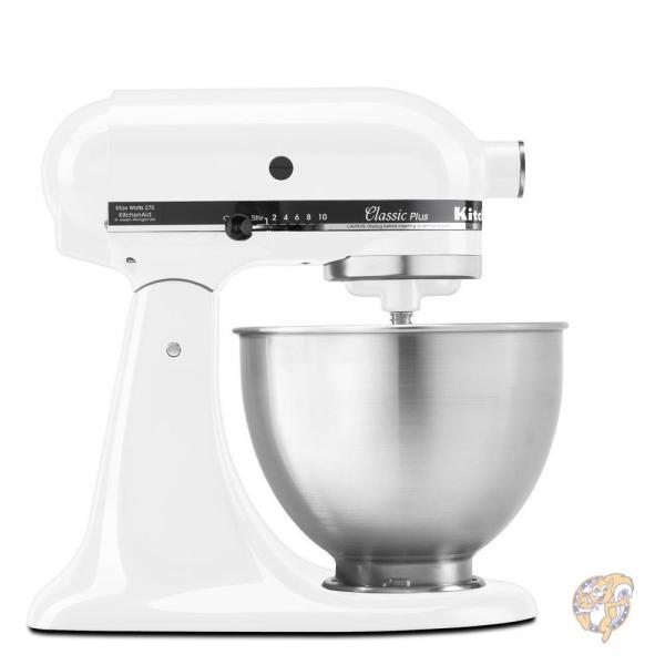 KitchenAid キッチンエイド KSM75WH 4.5-Qt. Classic Plus Stand Mixer - White 並行輸入品