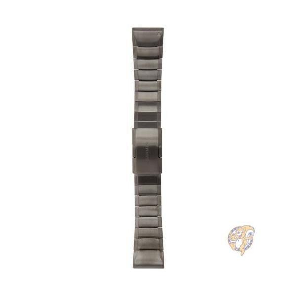 GARMINガーミン Fenix 5X Quick Fit 交換バンド 26mm 010-12517-05 スレート グレー ステンレス スチール  並行輸入品