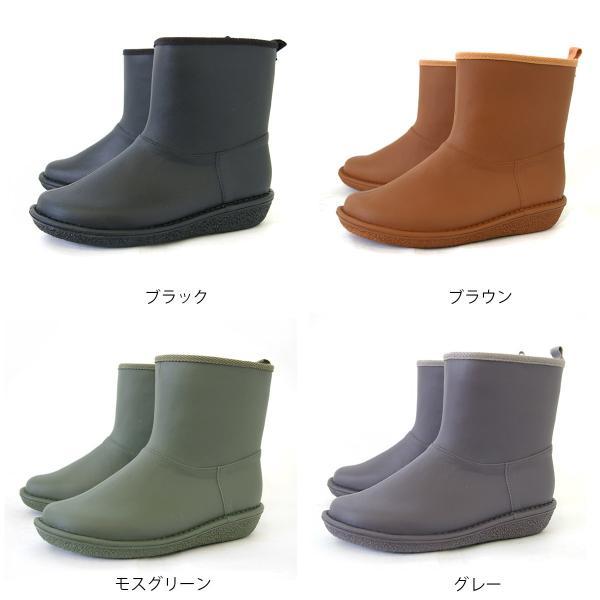 レインブーツ  ショート 日本製  高品質ラバーブーツ 長靴 ガーデンシューズ レインシューズ ラバーシューズ ラバーブーツ|amiami345|02