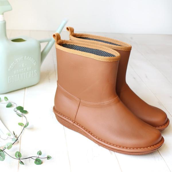レインブーツ  ショート 日本製  高品質ラバーブーツ 長靴 ガーデンシューズ レインシューズ ラバーシューズ ラバーブーツ|amiami345|11