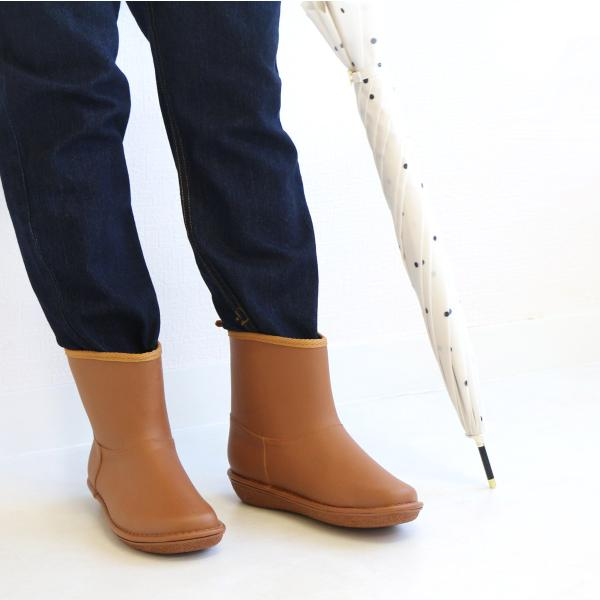 レインブーツ  ショート 日本製  高品質ラバーブーツ 長靴 ガーデンシューズ レインシューズ ラバーシューズ ラバーブーツ|amiami345|12