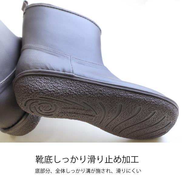 レインブーツ  ショート 日本製  高品質ラバーブーツ 長靴 ガーデンシューズ レインシューズ ラバーシューズ ラバーブーツ|amiami345|18