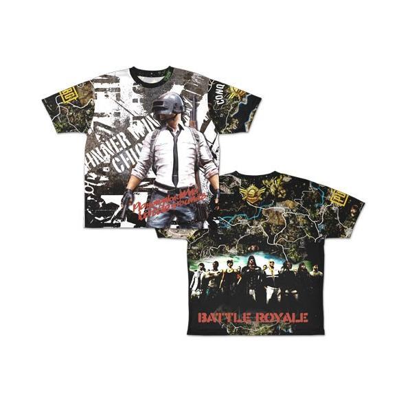 PLAYERUNKNOWN'S BATTLEGROUNDS PUBG 両面フルグラフィックTシャツ/XL(再販)[コスパ]《08月予約》