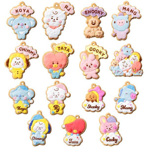 BT21 クッキーチャームコット 14個入りBOX (食玩)[バンダイ]《10月予約》