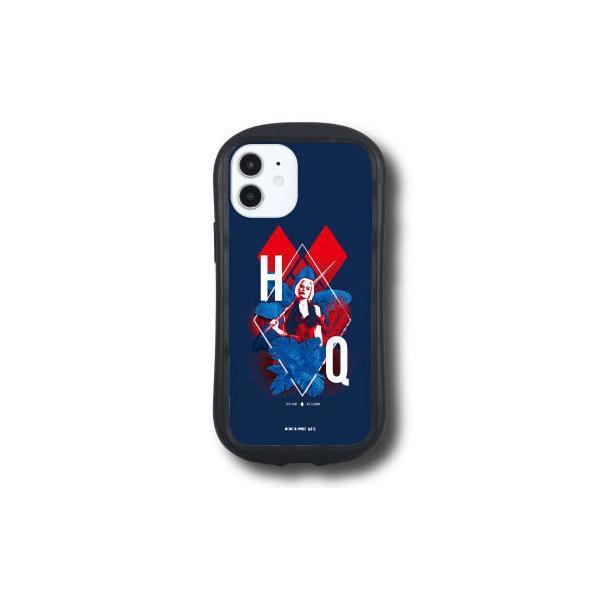 """ザ・スーサイド・スクワッド """"極""""悪党、集結 iPhone 12 mini 対応 ハイブリッドクリアケース ハーレイ・クイン[グルマンディーズ]《08月予約》"""