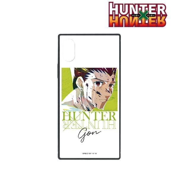 HUNTER×HUNTER ゴン Ani-Art 第3弾 スクエア強化ガラスiPhoneケース(X/XS)[アルマビアンカ]《01月予約》