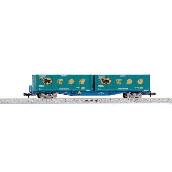 JR貨車 コキ104形(新塗装・ヤマト運輸コンテナ付) 873...