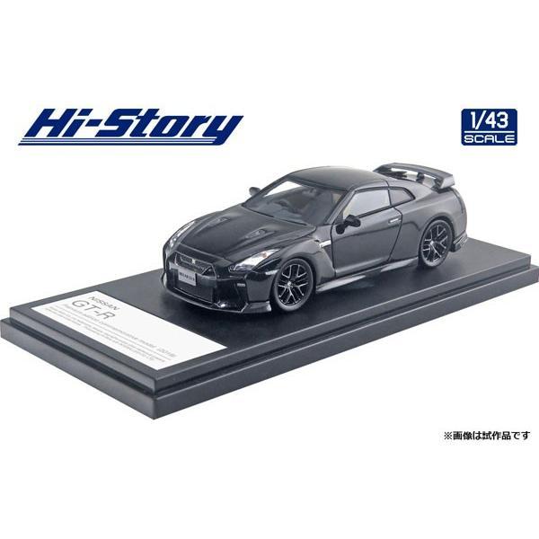 1/43 NISSAN GT-R アンバサダー就任記念モデル (2019) メテオフレークブラックパール[ハイストーリー]《発売済・在庫品》