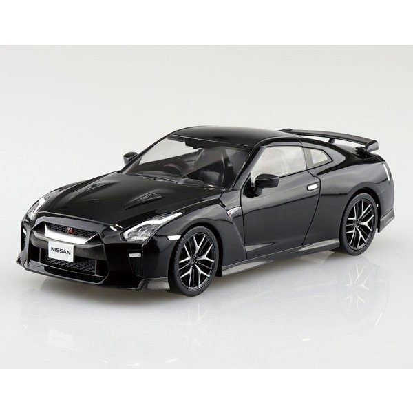 ザ・スナップキット No.07-C NISSAN GT-R(メテオフレークブラックパール) プラモデル[アオシマ]《発売済・在庫品》