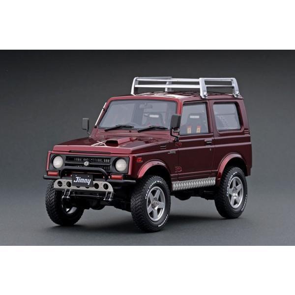 1/18 SUZUKI Jimny (JA11) Red Metallic[イグニッションモデル]【送料無料】《12月予約》