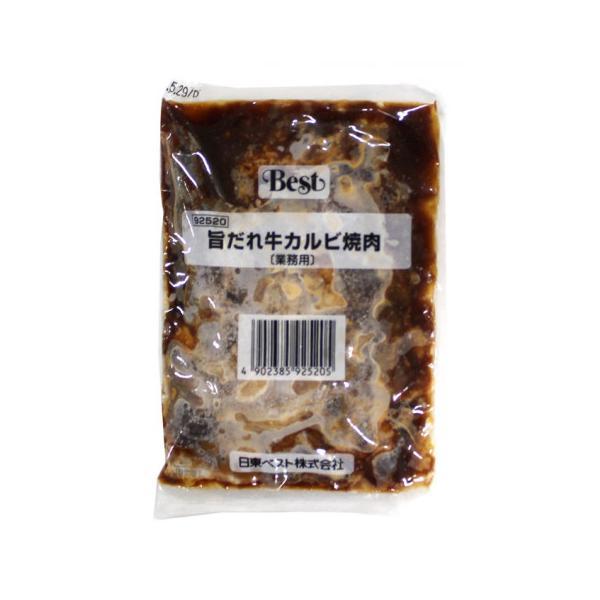 【奉仕品】日東ベスト 旨だれ牛カルビ焼肉 110g