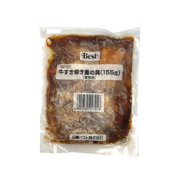 【奉仕品】日東ベスト 牛すき焼き重の具(155) 155g