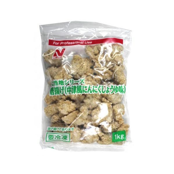 【奉仕品】ニチレイ ご当地唐揚中津風にんにくしょうゆ味 1kg